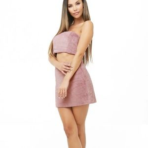 Forever21 one clothing Fuzzy matching 2 piece